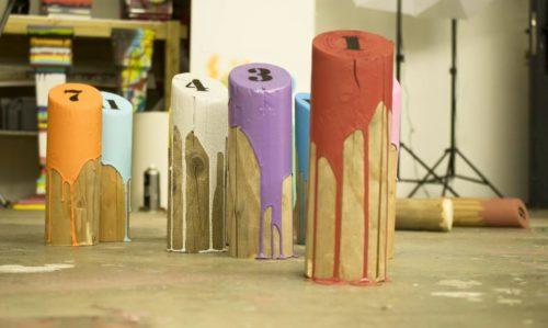 Molky bois peinture