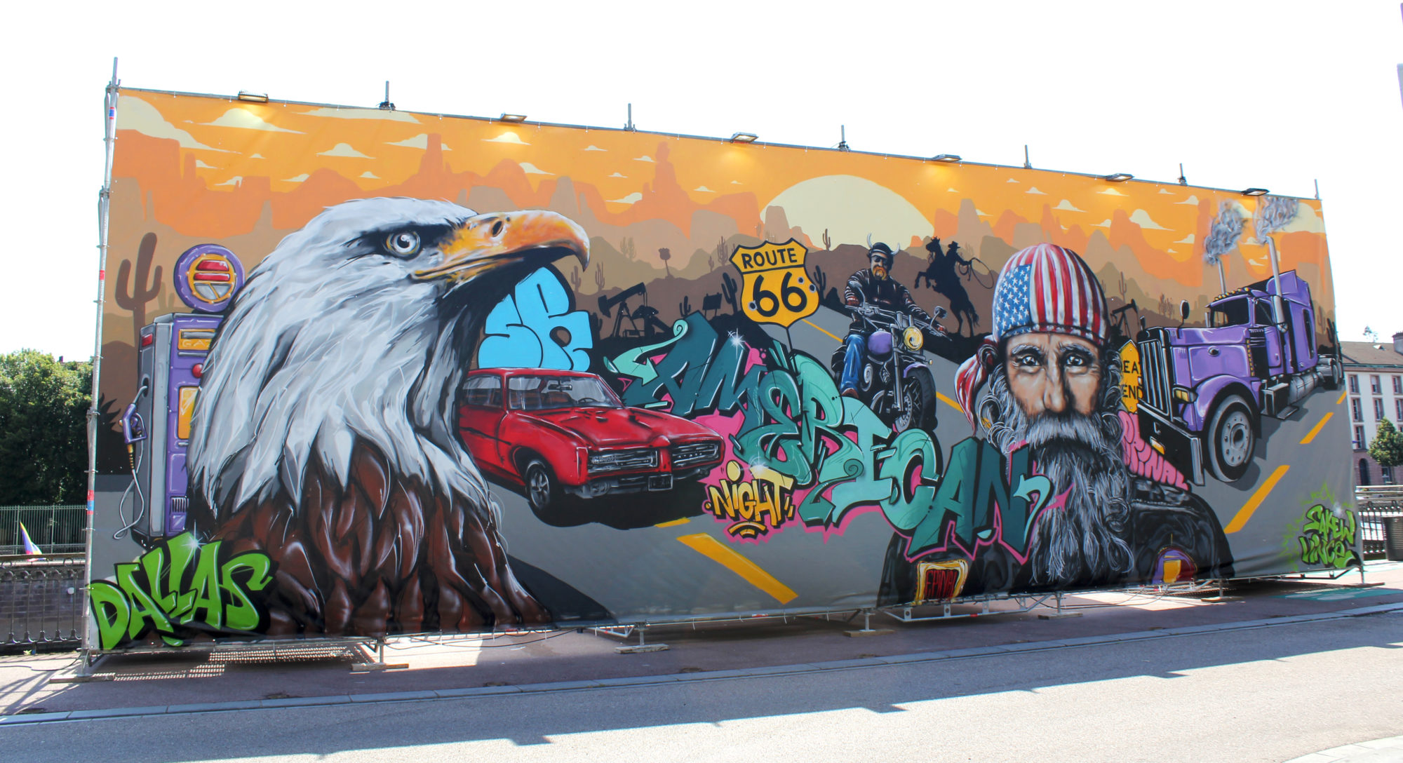 nuit americaine graffiti epinal aigle moto street art