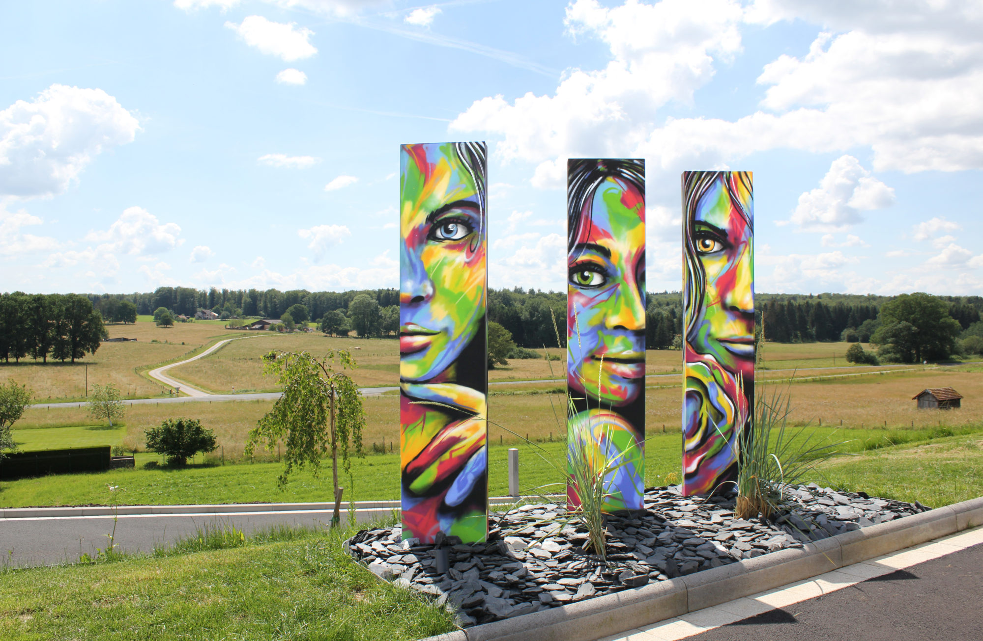 graffiti street art femme decoration