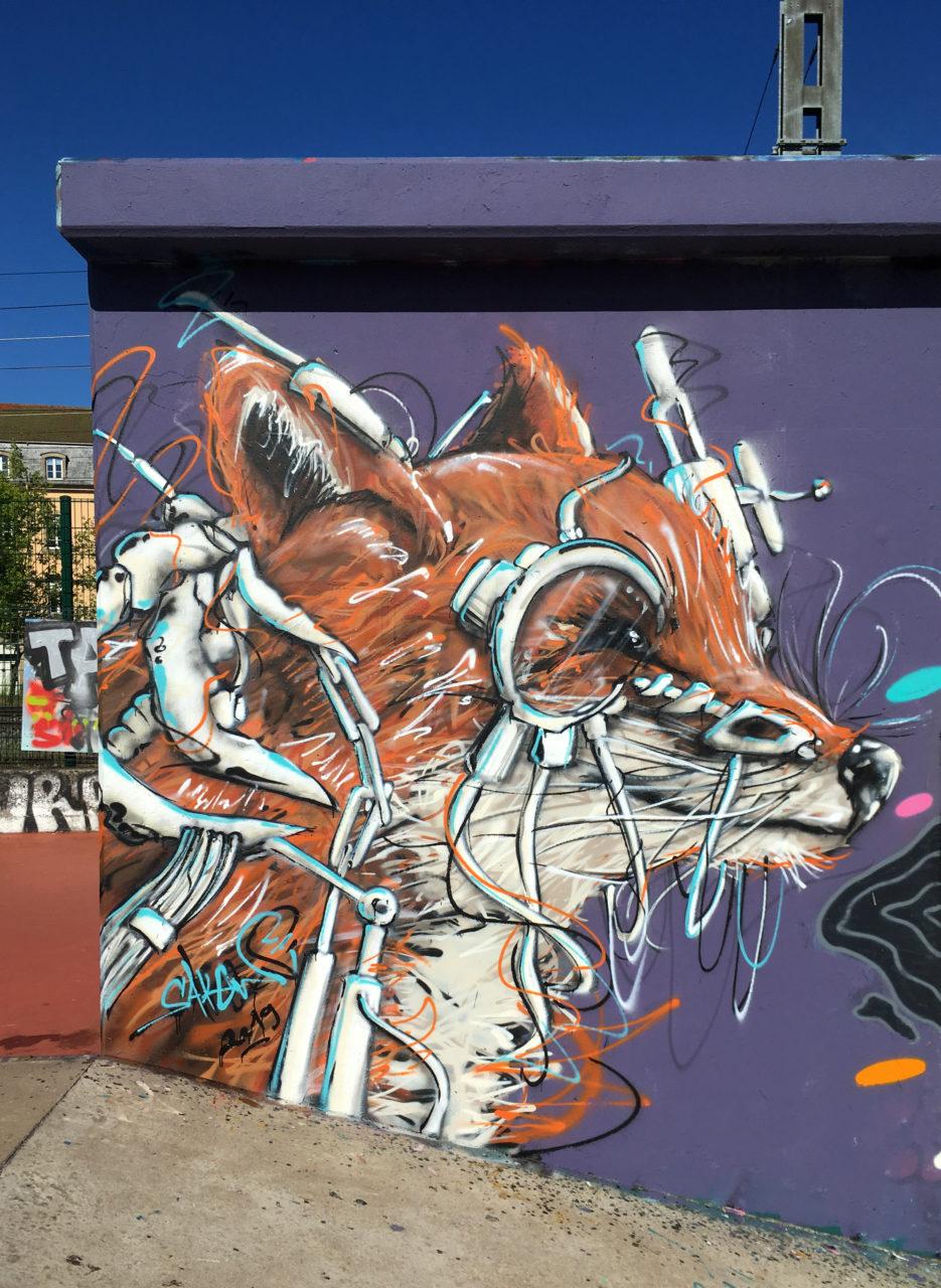 Sakew graffiti street art